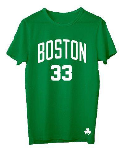 Remera basket nba boston celtics (010) #33 larry bird