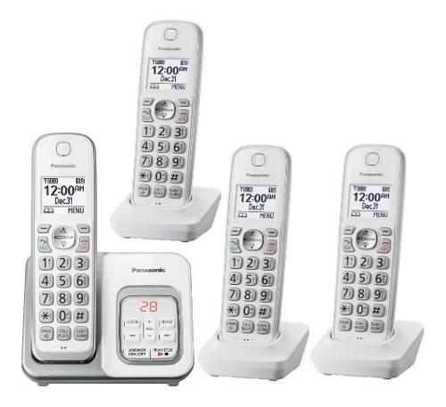 Telefono inalambrico panasonic kx-tgd534 contestador 4 handy