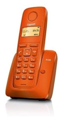 Telefono inalámbrico gigaset a120 naranja