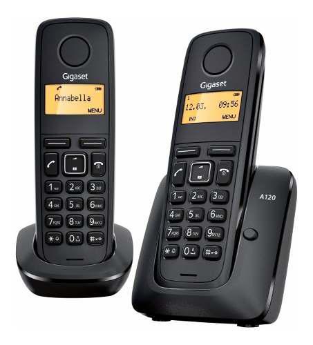 Teléfono inalambrico gigaset a120 duo