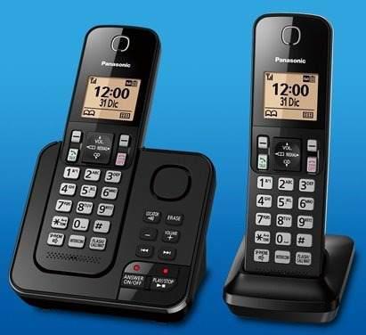 Teléfono Inalámbrico Panasonic Kx-tgc362