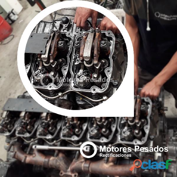 Servicio integral de rectificación para motores scania