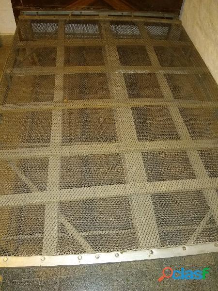 Cama turca metal 2 plazas patas madera retira r8 km77