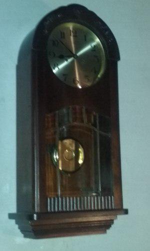 Antiguo reloj de pared gustav becker medio carillon año