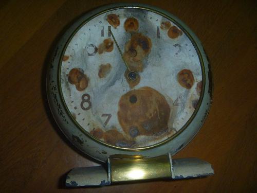 Antiguo reloj electrico mesa restaurar repuesto (art. 1868)