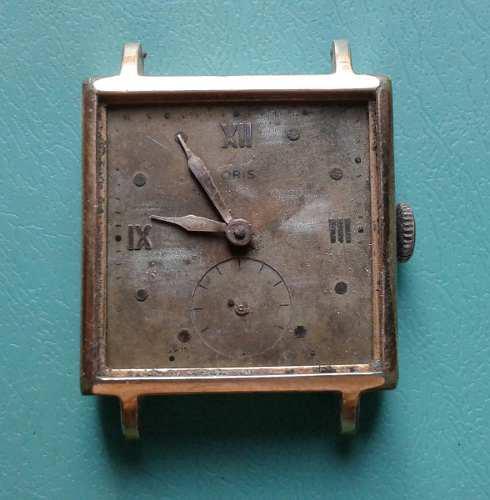 Antiguo reloj pulsera para caballero oris cal. 451