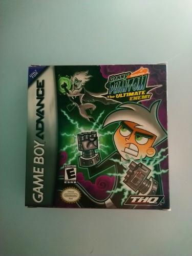 Danny Phantom Ultimate Enemy Juego Original Gameboy Advance