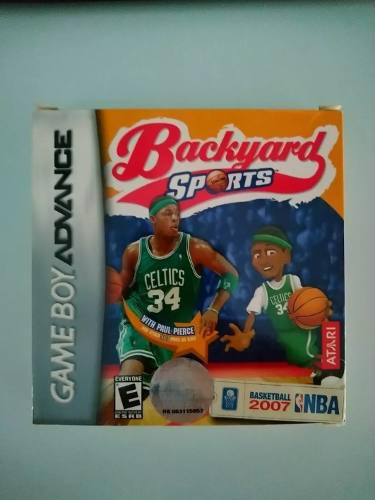 Juego Gameboy Advance Original Backyard Basketball 2007