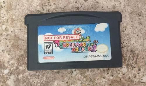 Juego Super Mario Advance- Game Boy