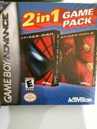 Spiderman 1-2 Doble Juego Original Gameboy Advance