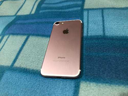 iPhone 7 Gold Rose 32gb Libre Permuto