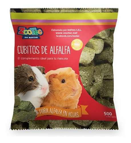 Alfalfa En Cubos X 500grs