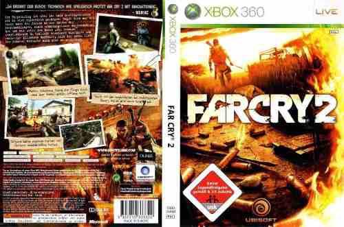 Juego Farcry 2 Para Xbox 360 En Caja Con Manual Como Nuevo