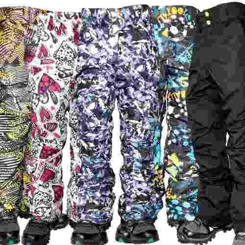 Pantalon ski termico impermeable niños nieve jeans710