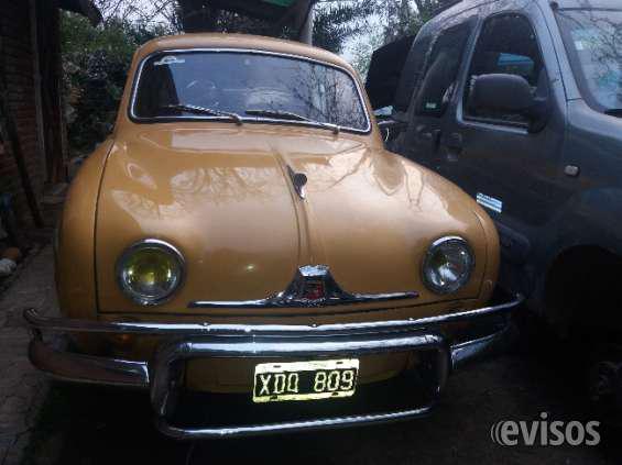 Renault douphine en Belén de Escobar