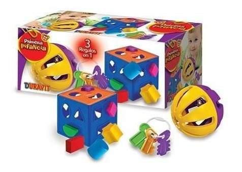 Set duravit didactico 3 juguetes para bebe v. crespo