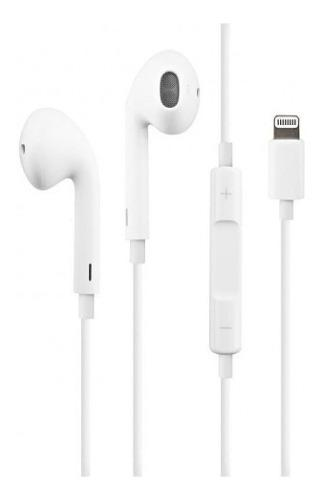 Auricular Original Apple Earpods Lightning iPhone X 7 8 Plus