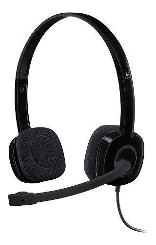 Auricular vincha headset logitech h151 micrófono pc ps4