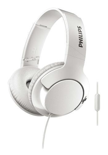 Auriculares Vincha Con Microfono Philips Bass + Shl3175wt/00