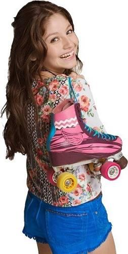 Disney Patines Soy Luna Originales + Casco Codera Y Luces