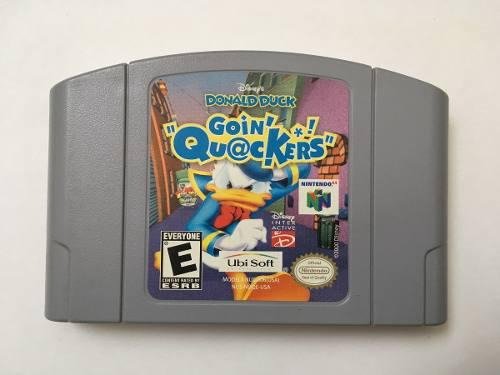 Donald duck goin' quackers original n64 loop123