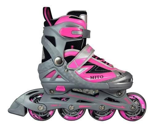 Rollers extensibles mito patines ruedas niños adultos