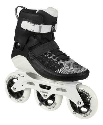 Rollers Powerslide Swell 110 Black - Fitness Triskate Nuevos