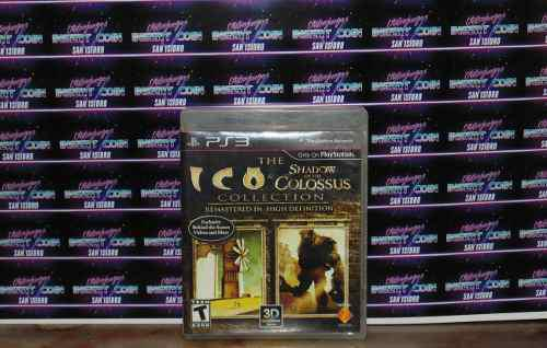 The Ico & Shadow Of The Colossus Ps3 Juego Play Station 3