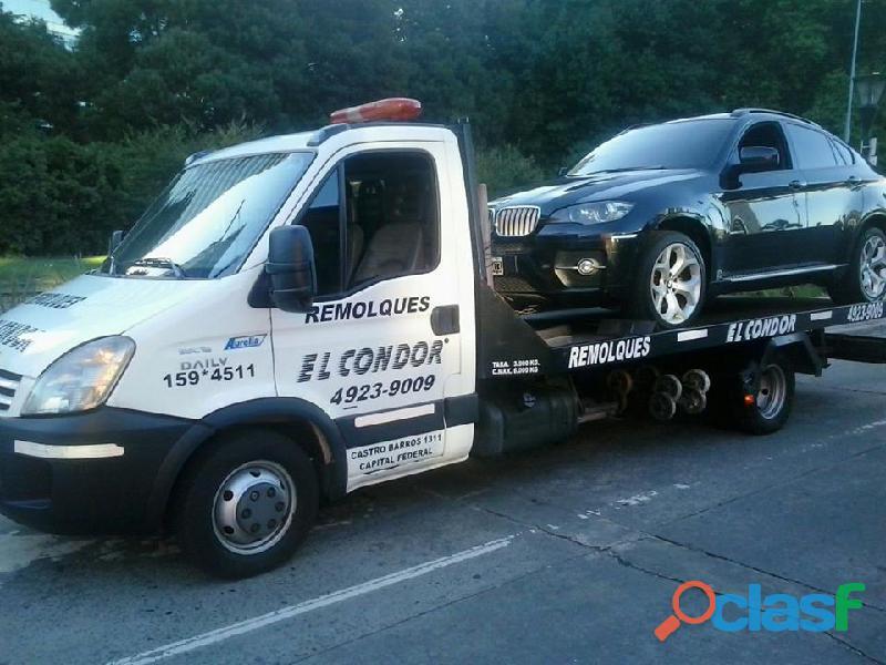 Auxilio remolques el condor transporte de vehiculos