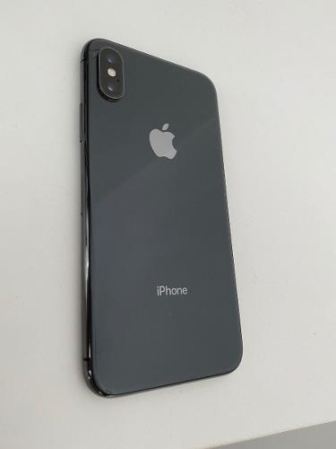 Apple iphone x 256 gb space gray usado 85% batería