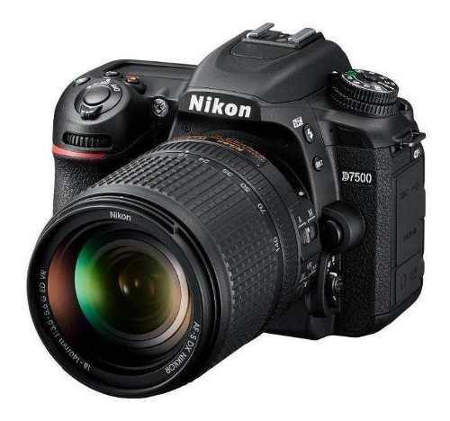 Nikon D7500 7500kit 18-140mm + Accesorios + Garantia