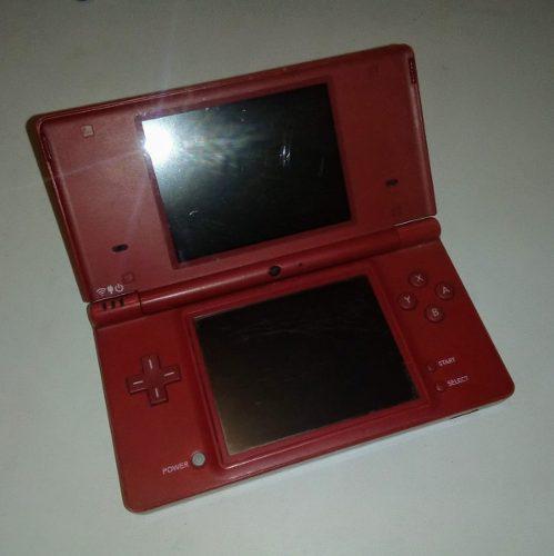 Nintendo dsi ds i rojo consola usada + cargador