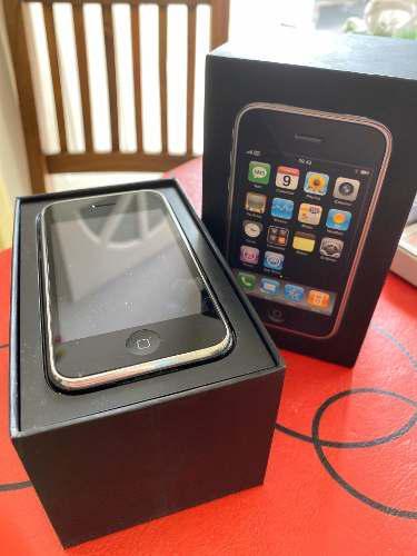 iPhone 3g Funcionando En Caja Con Bateria Adicional Nueva