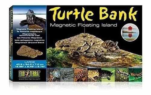 Isla tortugas para acuario turtle ajustable mediun envio