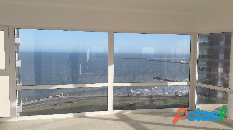 Piso de 4 ambientes - vista al mar - alvarado y parque san martín