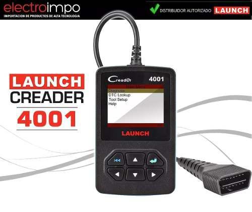 Launch Creader 4001 Lector Código Obd2 Escáner