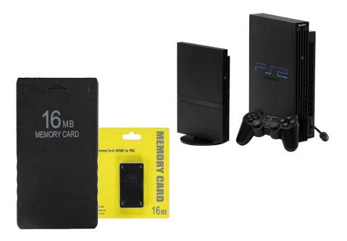 Memory Card 16 Mb Playstation 2 Ps2 Play 2 Once