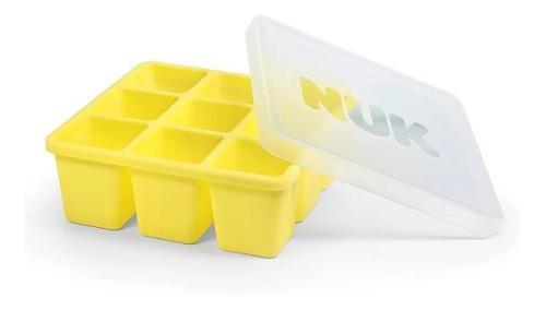 Cubetera para alimentos nuk tapa silicona comida bebes