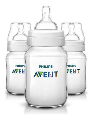 Mamaderas philips avent classic+ 563/29 260ml packx3 cuotas