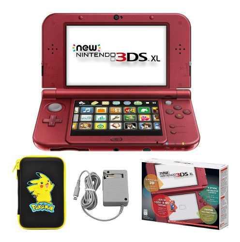 New Nintendo 3ds Xl Film Protector Estuche Cargador