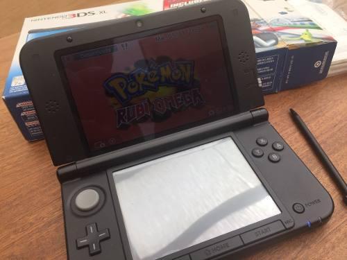 Nintendo 3ds Xl + 9 Juegos Orig. Sin Envio Desc. Efectivo