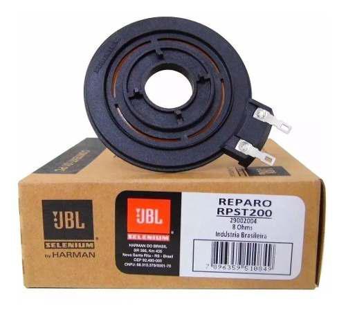 Reparo membrana repuesto tweeter jbl selenium st200 rpst200