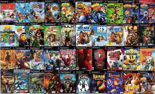 5 Juegos Playstation2 Títulos A Elección!
