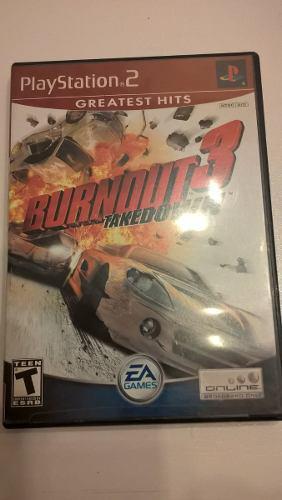 Burnout 3 Ps2 Juego Original De Ea Games Usa.