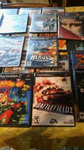 Juegos Ps 2 Lote X 10 Originales Y CopiasHay 50 En Total