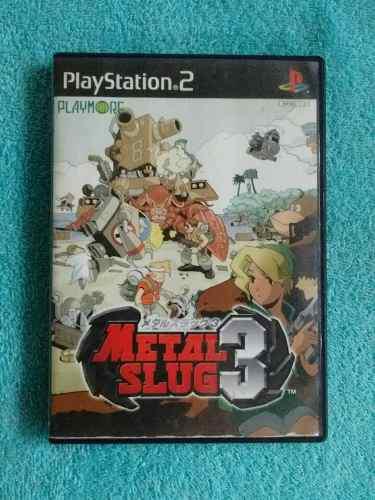 Juegos Ps2 Metal Slug 3 Original [Ntsc-j] Inconseguible
