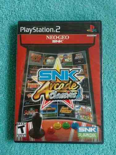 Juegos ps2 neo geo snk arcade classics collection original
