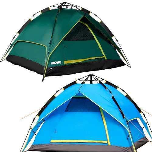 Carpa 4 Personas Automatica Camping Autoarmable Sobretecho