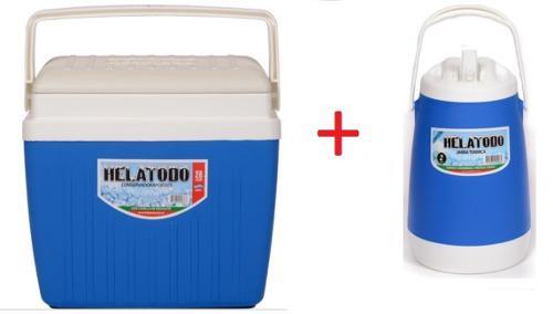 Conservadora heladera 28 lts + jarra termica helatodo