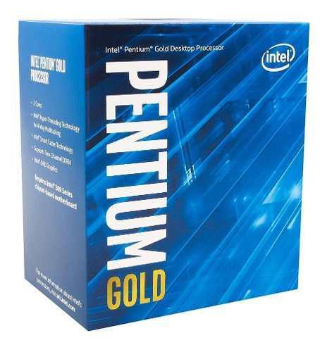 Micro Procesador Intel Pentium Gold G5400 3.7 Ghz S1151 Logg